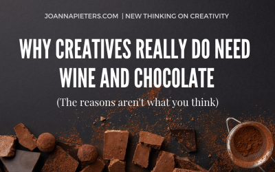 Hurrah! Why creative brains need wine and chocolate
