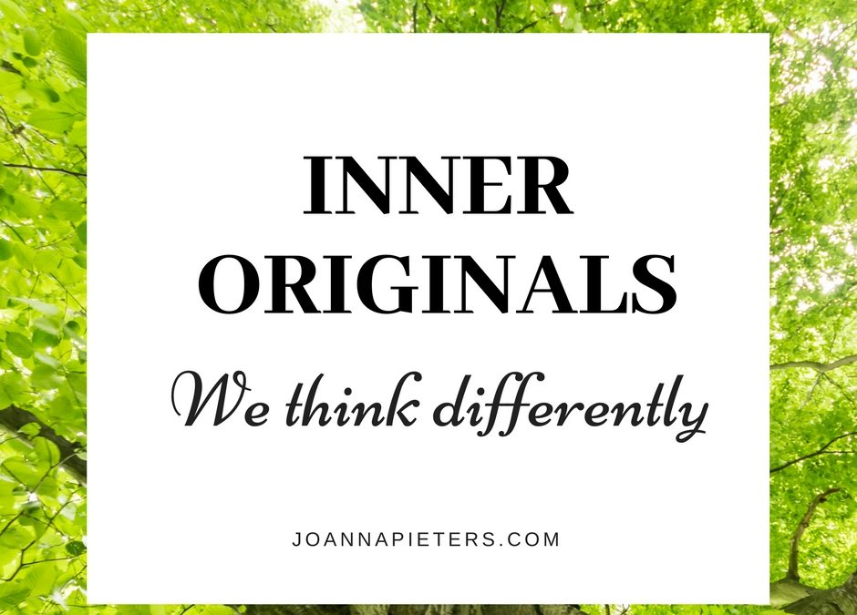 We are Highly Creative People, Inner Originals. Let's claim it