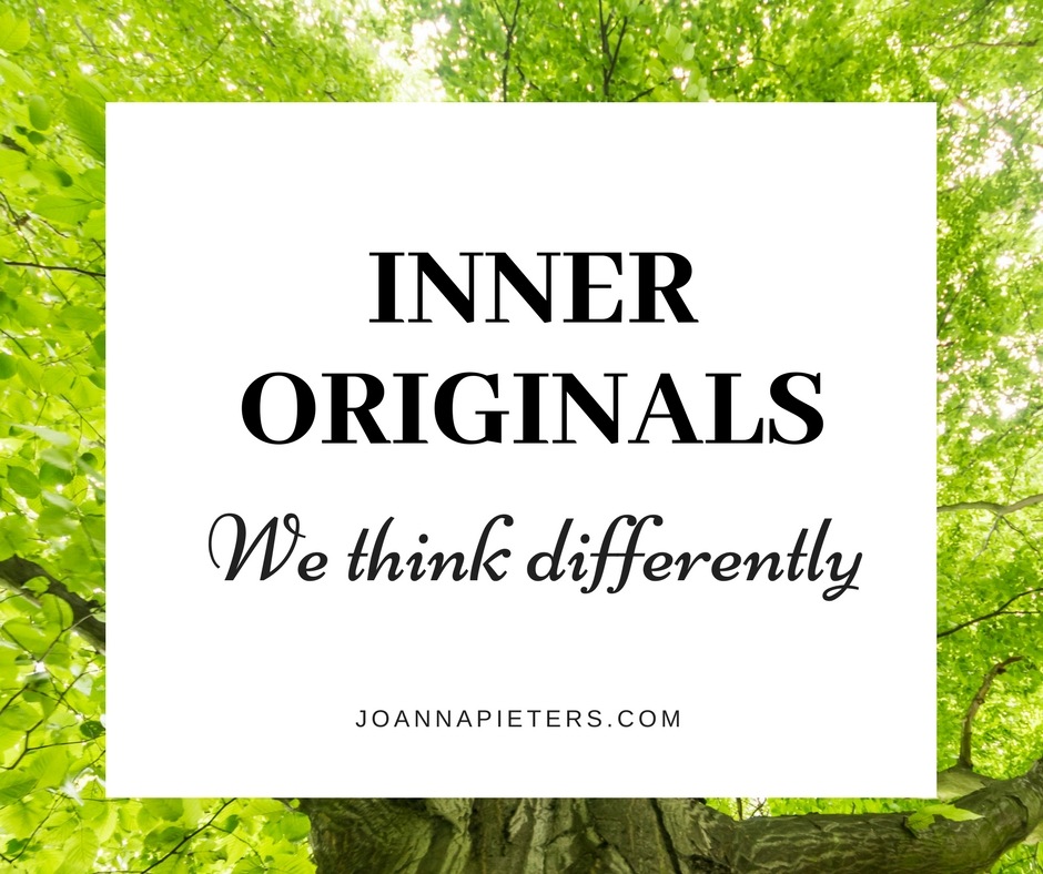 Inner Originals. We think differently. Joanna Pieters