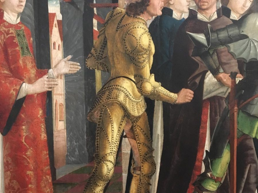 Klimt, a golden knight, and why stealing like an artist works
